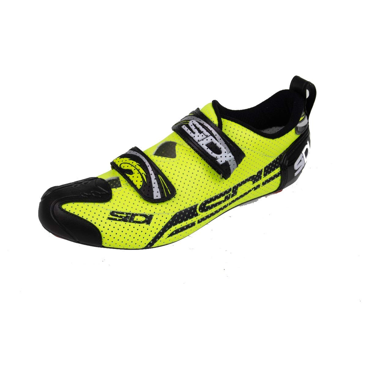 Amazon.com: Sidi T4 Air Carbon Triathlon Shoe Yellow Fluo ...