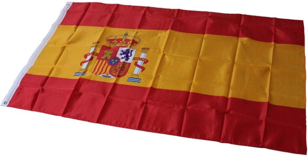 K-youth® España Español Bandera de saludando Espana 90 × 150cm Bandera nacional Bandera España: Amazon.es: Jardín