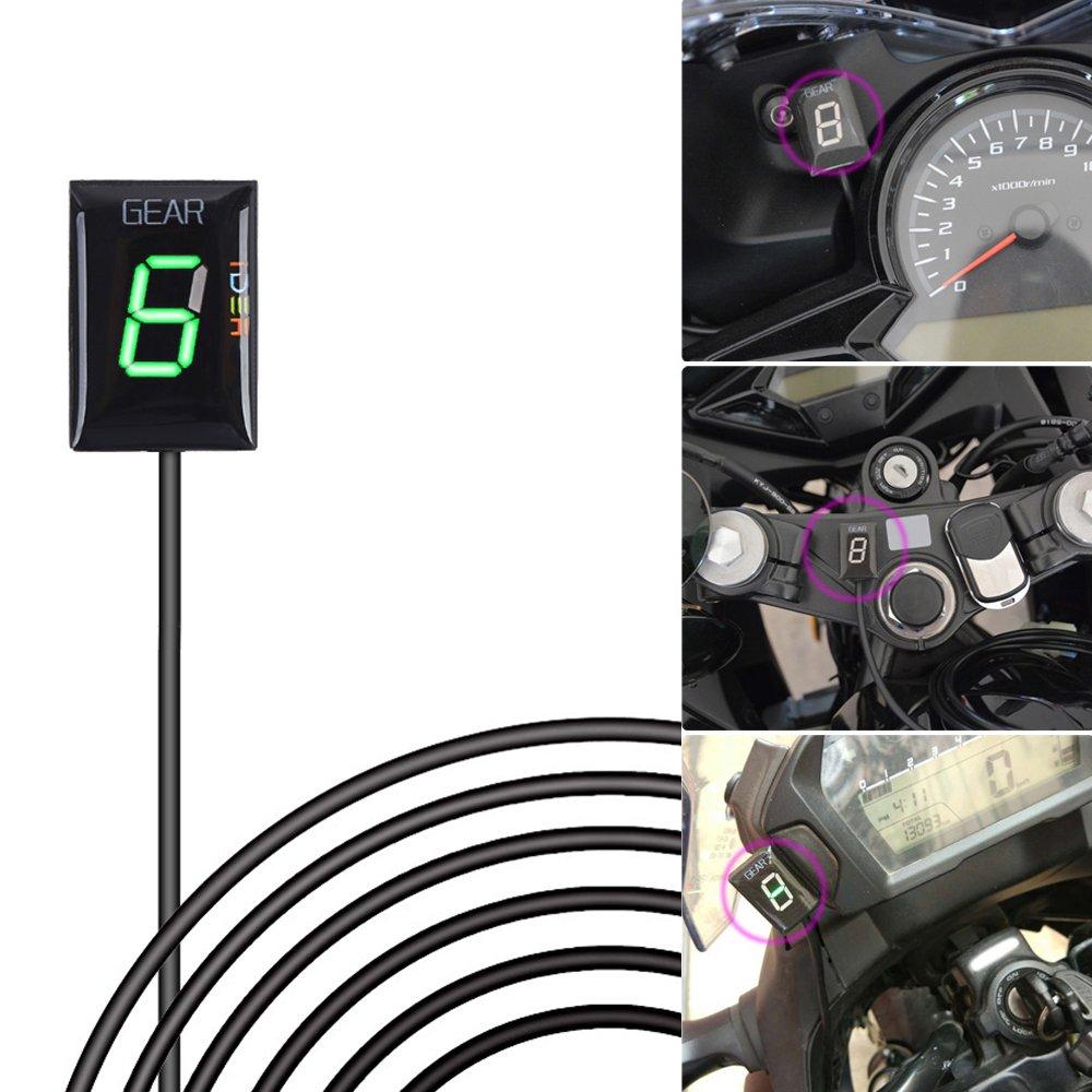 FOR Honda CBF600 2008-2012   Plug and Play gear indicator