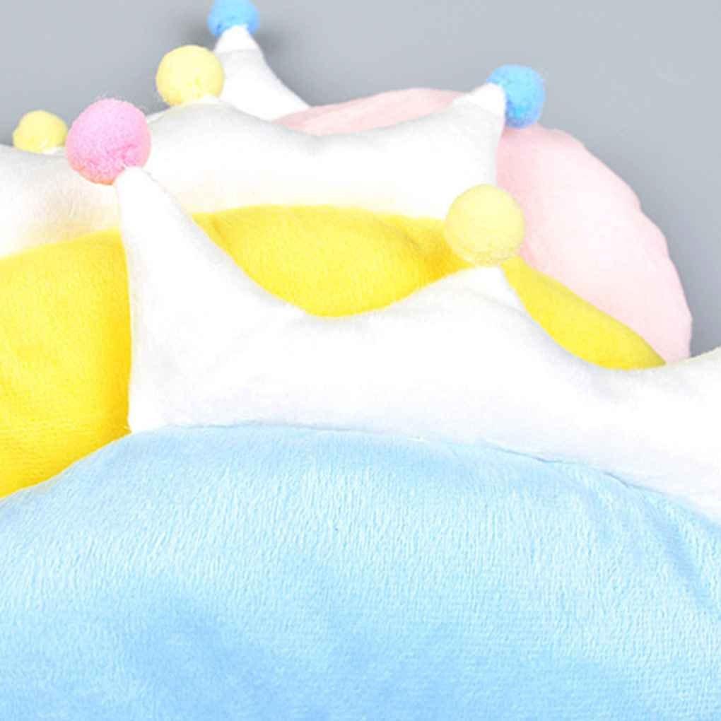 Babysbreath17 Bebé Corona en Forma de Cabeza Infantil Shaping Almohada recién Nacido Cuello Protección previene la Cabeza Plana de Cama para el niño ...