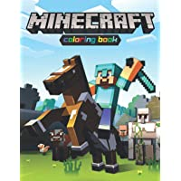 Minecraft Coloring Book: Amazing Activity Book for Minecrafters   +60 Coloring Pages Filled with Minecraft Characters…