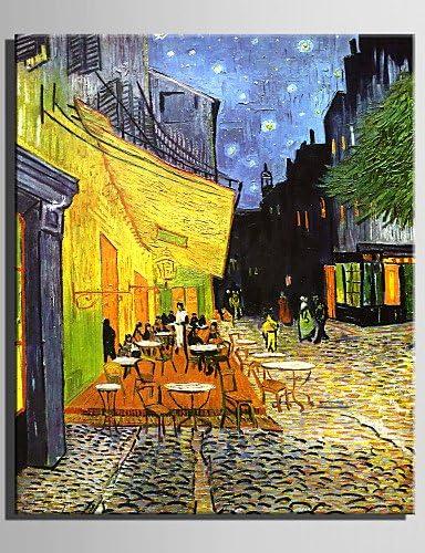 Ofladyh Mini Peinture A L Huile Taille E Maison Coin Cafe Moderne Main Pure Dessiner La Peinture Decorative Frameless 7 X 10 Amazon Fr Cuisine Maison