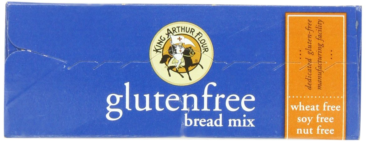 King Arthur Flour Bread Mix, Gluten Free, 18.25 Ounce Packages (Pack of 3) by King Arthur