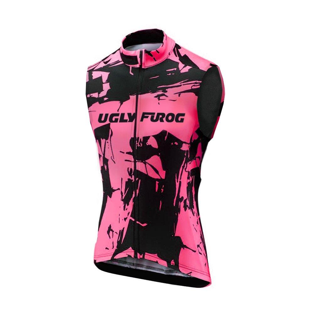 Uglyfrog Radtrikot /Ärmellos Vest Herren Mode Sport /& Freizeit MTB Fahrradbekleidung Radsport Hemd Polyester Gem/ütlich MJX03