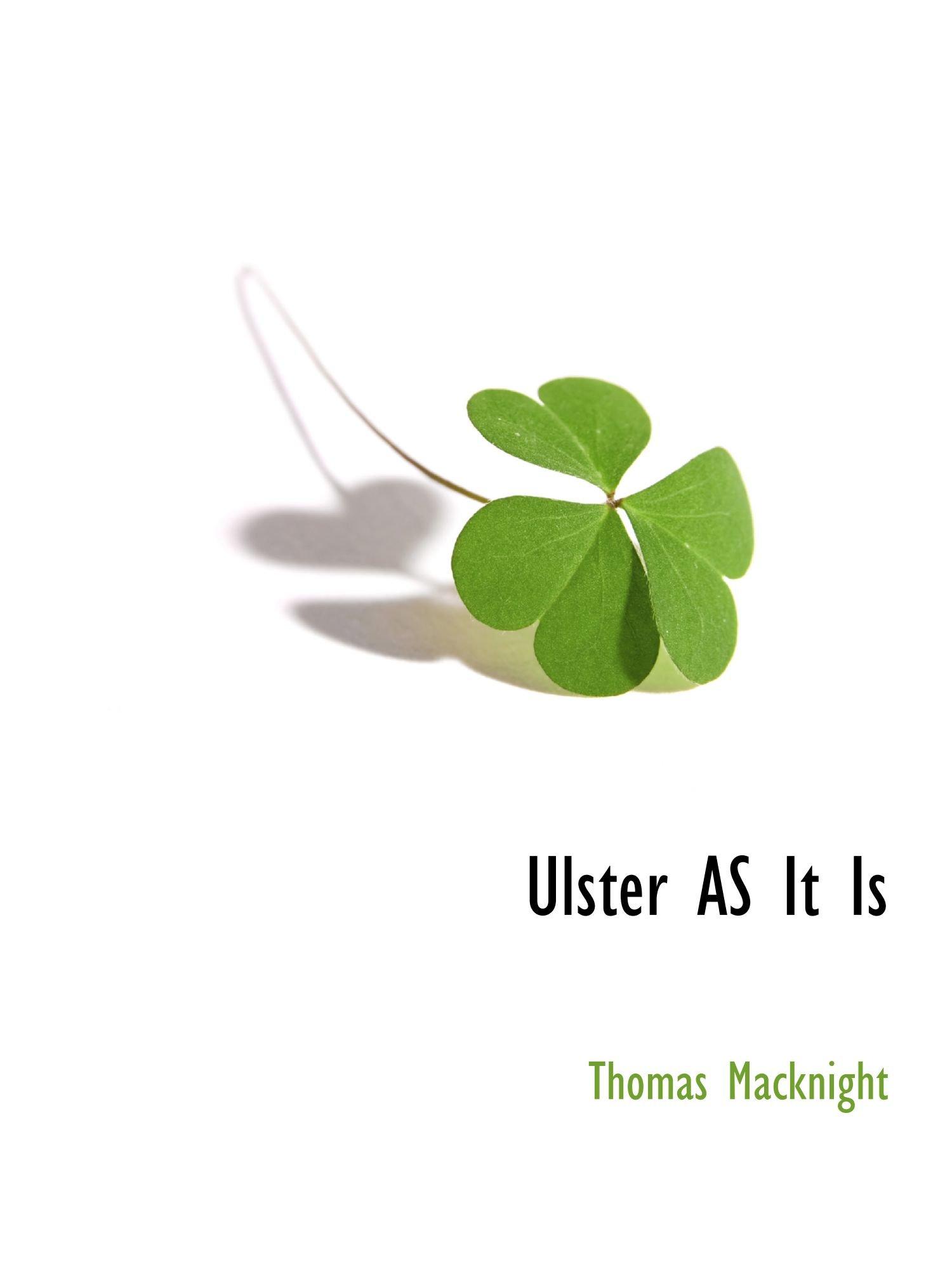 Read Online Ulster AS It Is ebook
