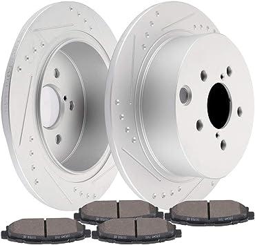 Front and Rear Premium Rotors /& Ceramic Pads for 2013-2014 Subaru XV Crosstrek