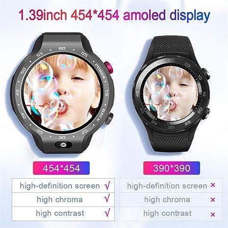 Amazon.com: LEMFO LEM9 Dual 4G Systems Smart Clock Android ...