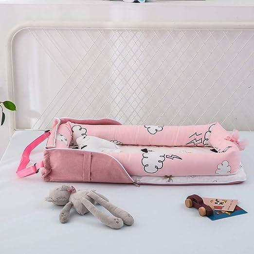 Amazon.com: Bassinet portátil para dormir, portátil plegable ...