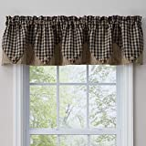 Park Designs Town and Country Black Point Valance