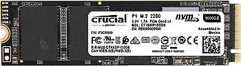 Crucial P1 1TB 3D NAND NVMe PCIe M.2 Internal SSD