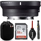 Sigma MC-11 Lens Mount Converter (Canon EF to Sony E-Mount) with 32GB SD Card