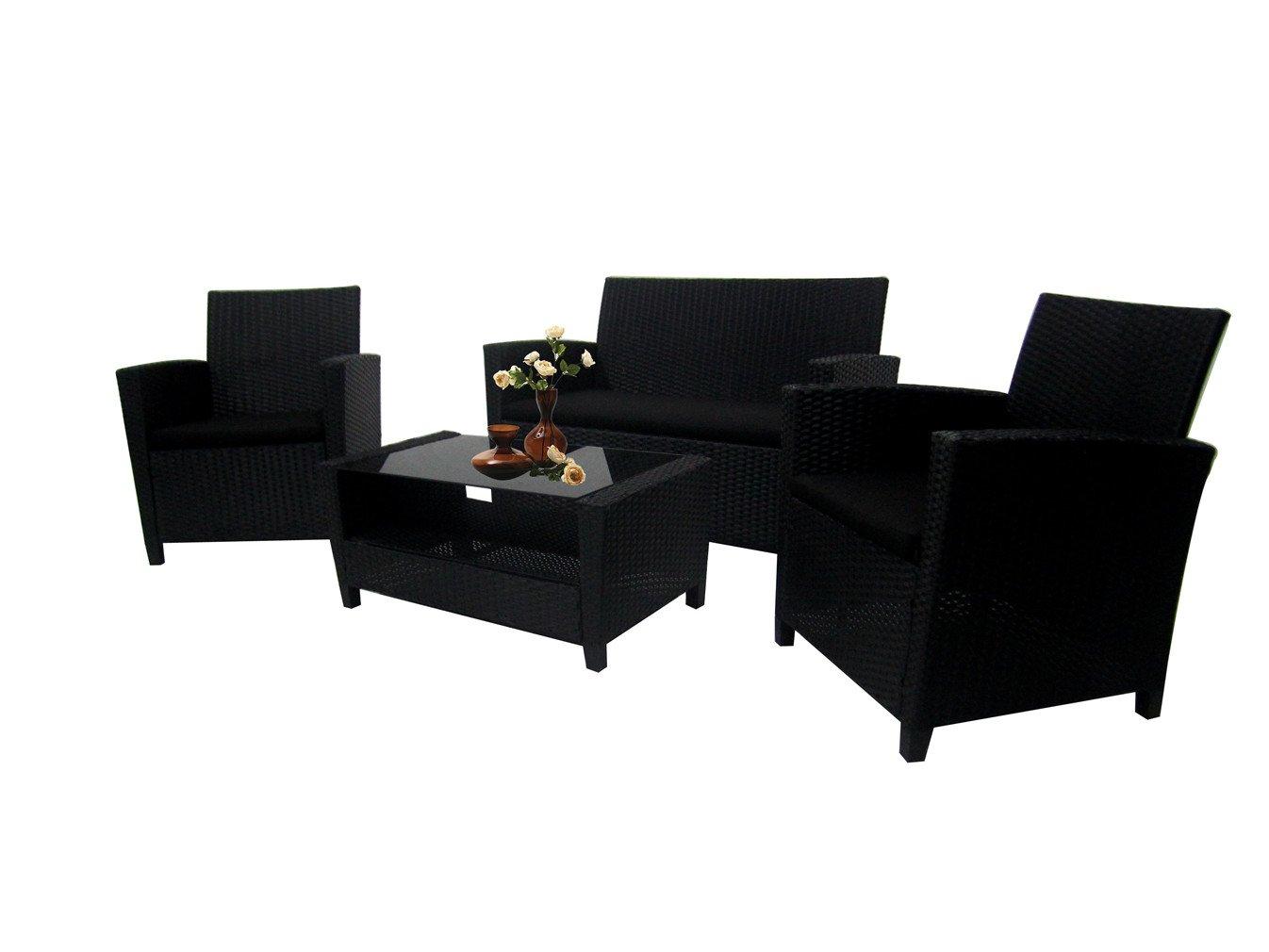 Amazoncom Richly Outdoor Indoor Furniture Set 4 Pieces Patio