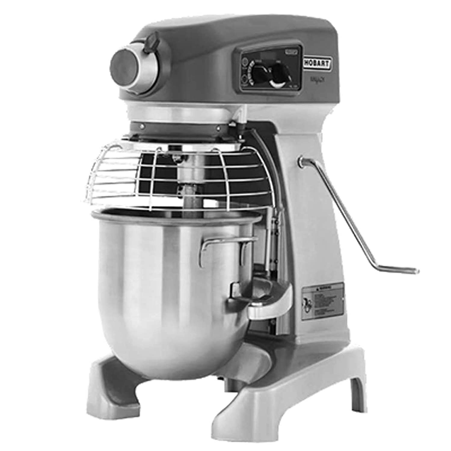 Amazon.com: Hobart HL120-1STD Bench Type 12 Quart Planetary Mixer: Electric Stand Mixers: Kitchen & Dining