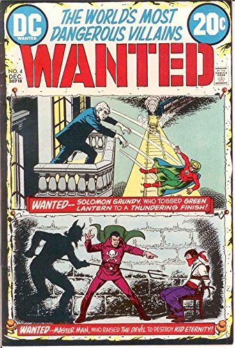 Wanted  1972  4 Vf  Dec 1972 Solomon Grundy Green Lan