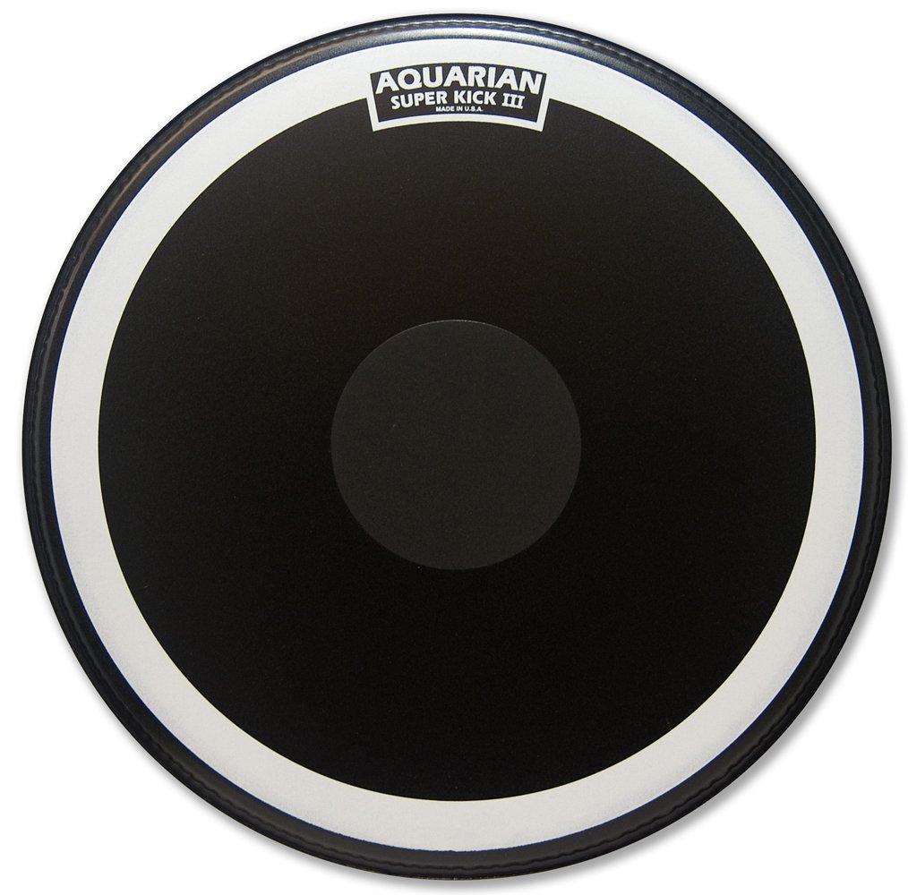 Aquarian PTCC16BBK 16-Inch Bass Drum Head