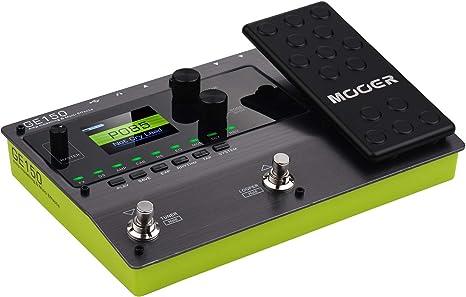 Muslady MOOER GE150 Pedal de Modelado de Amplificador y Efectos Múltiples 55 Modelos de Amplificador 151 Efectos 80s Looper 40 Ritmos de Batería 10 Metrónomo Tap Tempo Función OTG: Amazon.es: Instrumentos musicales