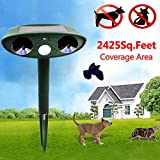 Chinis HG-GA5 GreatHouse Ultrasonic Solar Power Cat Dog Repeller Outdoor Garden Animal Scarer