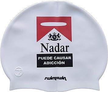 Swimxwin Gorro de Silicona No Smoking España | Gorro de Natación ...