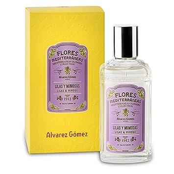 Alvarez Gomez Perfumes Mediterranean Flowers Eau de Toilette Spray, Lilac & Mimosa, 2.7 Fluid