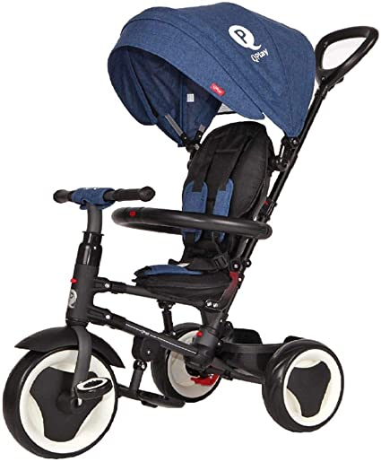 Triciclo Rito plegable-Azul