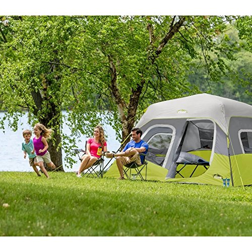 Core camping tent