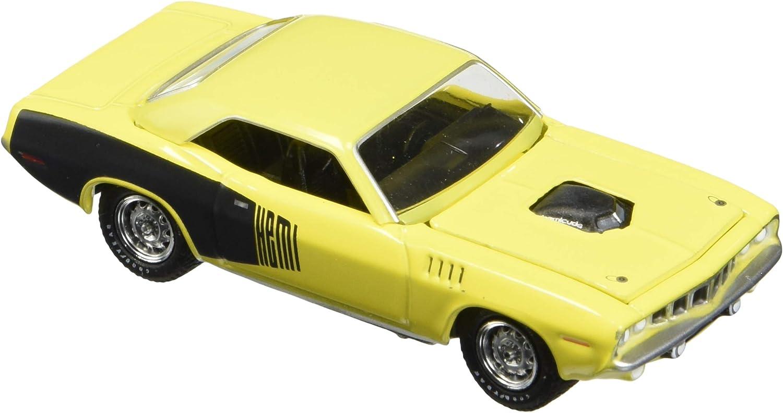1970 Plymouth HEMI CUDA Hobby Exclusive 29977 by Greenlight Best Greenlight DIECAST 1:64 BFGOODRICH Vintage AD Cars