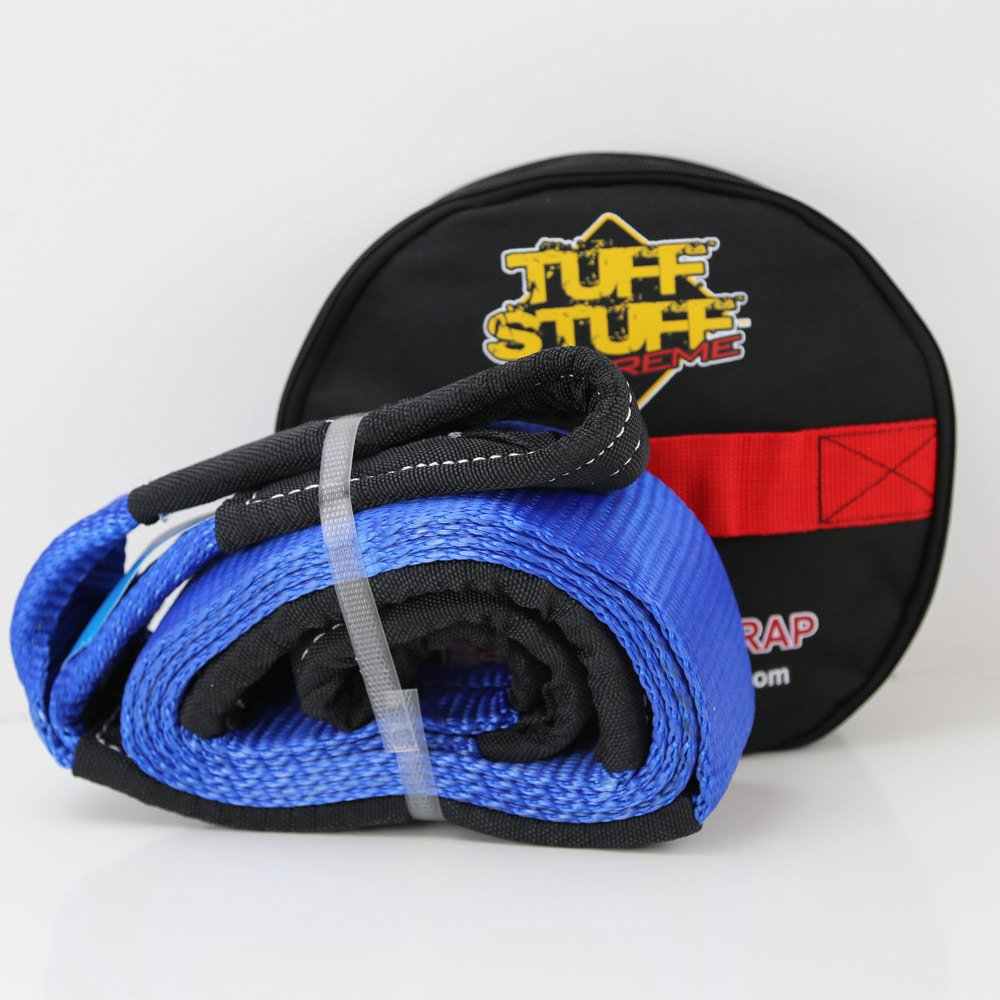 Tuff Stuff 10' X 3'' Tree Saver Winching Strap W/ Storage Bag
