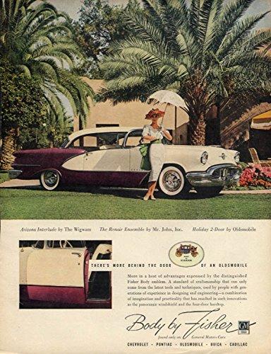 Oldsmobile Holiday Hardtop Body by Fisher ad 1956 The Wigwam AZ - Body Hardtop