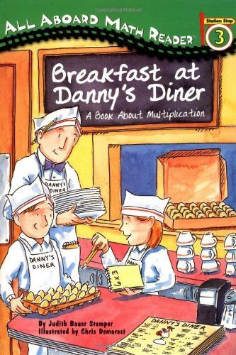 All Aboard Math Reader Station Stop 3 Breakfast At Dannys Diner A