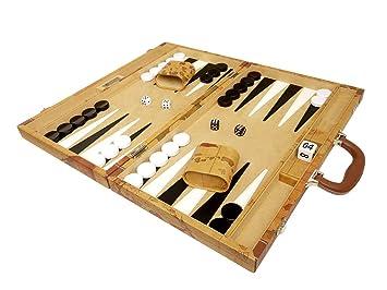 Amazon 18 inch luxurious map backgammon set brown board 18 inch luxurious map backgammon set brown board publicscrutiny Choice Image