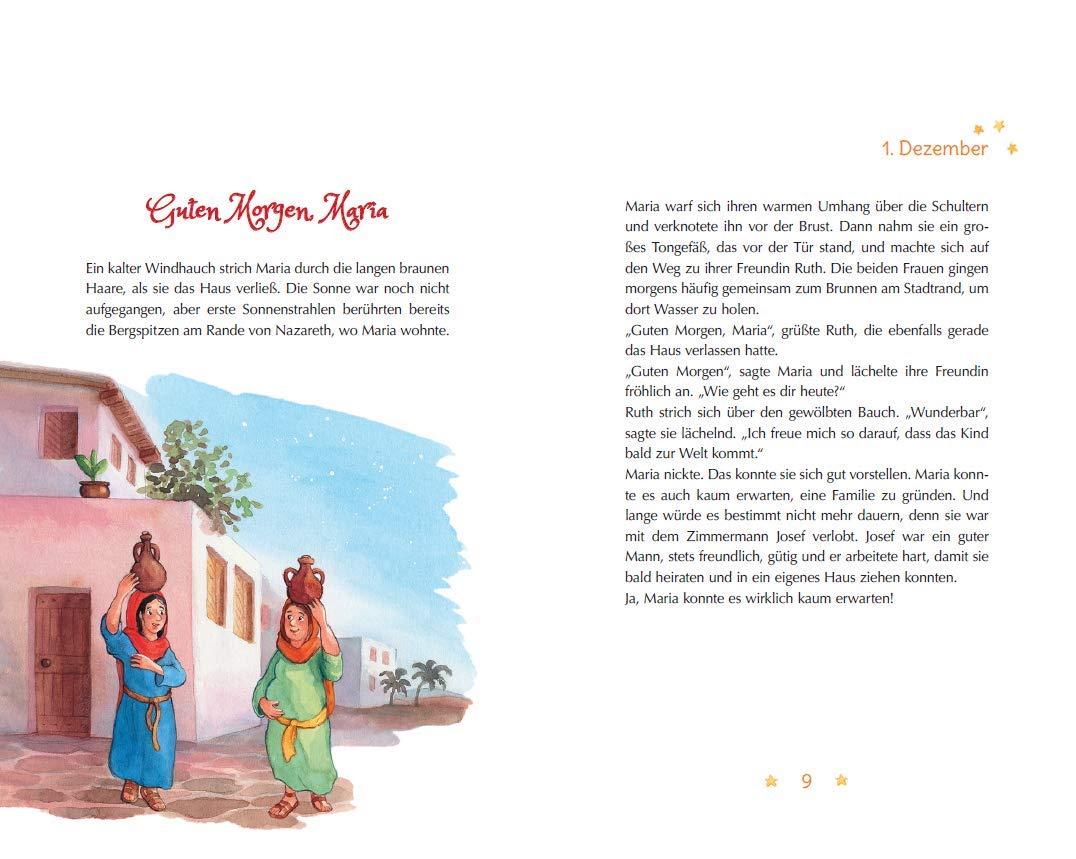 Die Weihnachtsgeschichte Ein Adventskalenderbuch Katharina