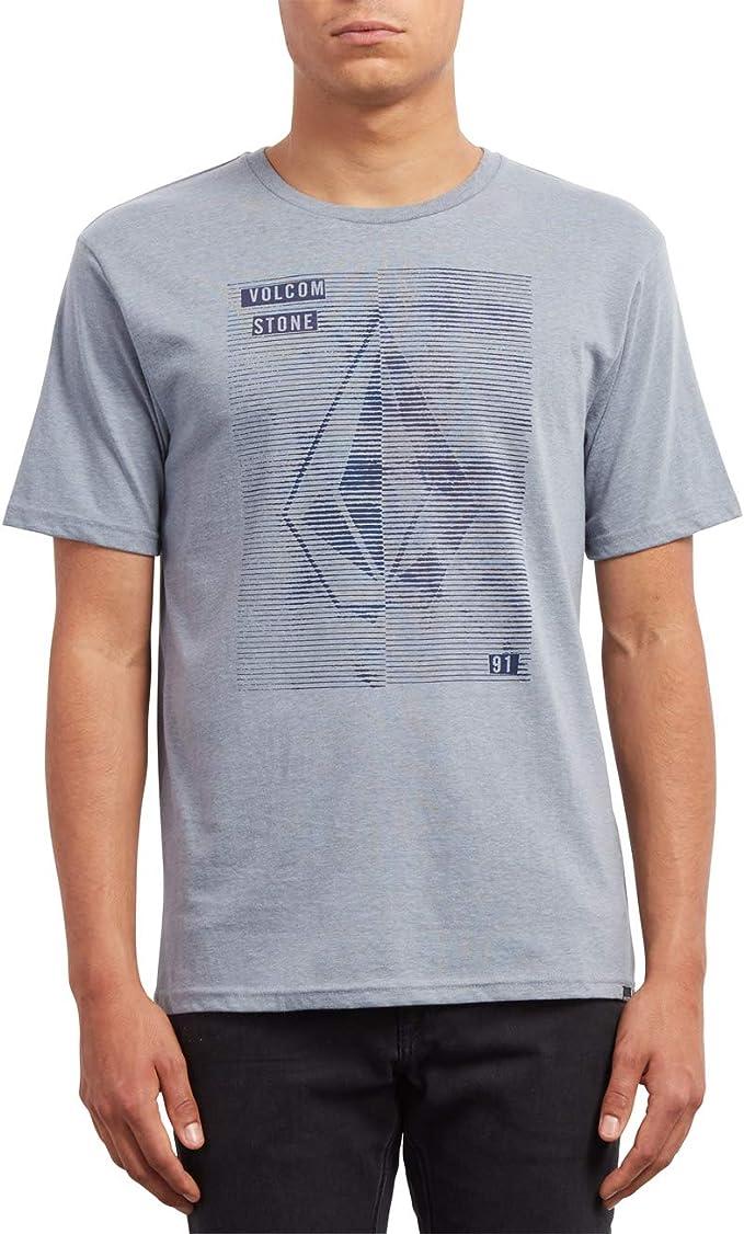 Volcom Line Tone HTH SS Camiseta, Hombre: Amazon.es: Ropa y accesorios