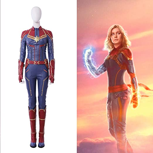Amazon Com Rubyonly Captain Marvel Costume Halloween Costume For Women Captain Marvel Jumpsuit Cosplay Captain Marvel Suit Wholeset S Home Kitchen We offer marvel costumes and more for any special occasion. rubyonly captain marvel costume
