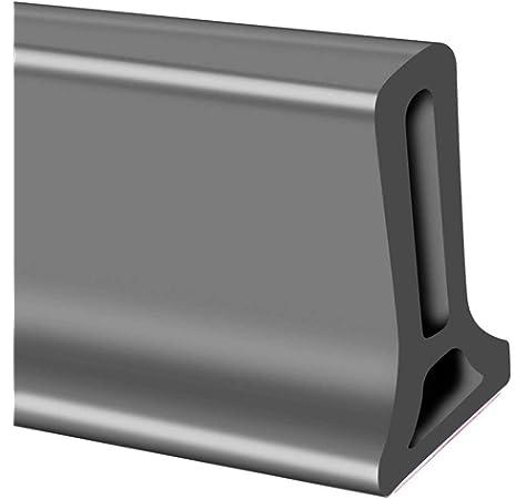 Perfil flexible de silicona de 120 cm para ducha o suelo del baño; banda impermeable para ducha, barrera de ducha para el cuarto de baño. Color transparente: Amazon.es: Bricolaje y herramientas
