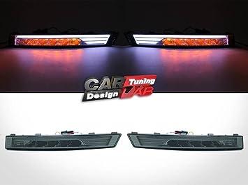 (2) LED Indicador de Posición Delantero Luz de Día para 05-10 Passat