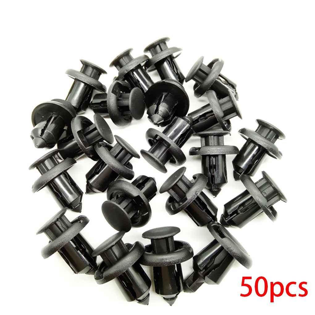 10 mm Automobile en plastique Fastener Clip pour Honda Accord Civic CRV voiture Pare-chocs Fender fixe Clips Republe