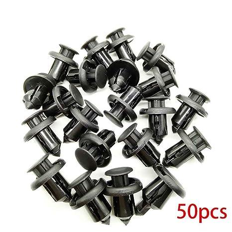 Plzlm 10mm Automóvil de plástico Sujetador Clip para Las Pinzas de Civic de Honda CRV Acuerdo