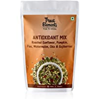 True Elements Roasted Sunflower, Pumpkin, Flax Seeds Watermelon, Chia and Goji Berries, 125g