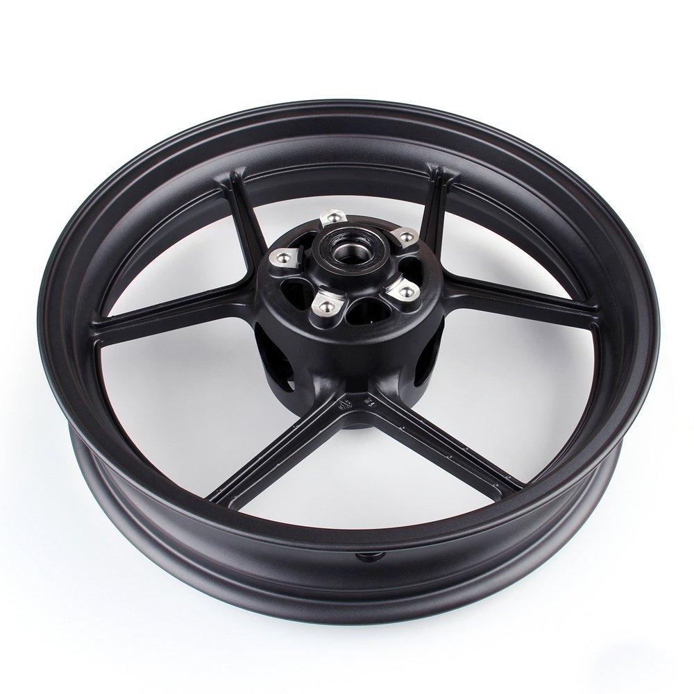 Artudatech Front Wheel Rim For Kawasaki ZX6R 2009-2010 ZX10R 2006-2010 Black by Artudatech (Image #5)