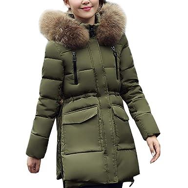 Abrigos Mujer Invierno Rebajas Elegantes Talla Grande Abrigo con Capucha Abrigado Invierno con Capucha De AlgodóN