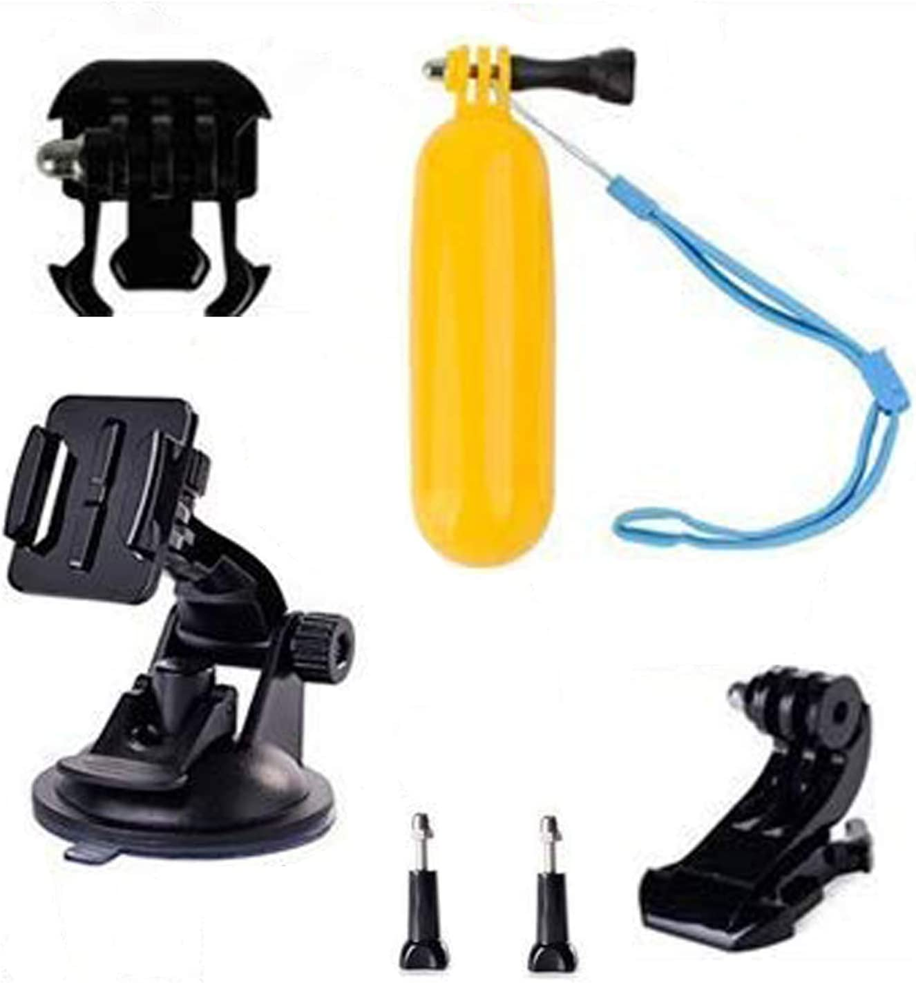 Navitech 8 in 1 Action Camera Accessory Combo Kit Compatible with The SOOCOO C30 4K Action Camera