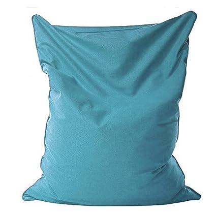Amazon.com: ACOMY 140x110cm Lazy Bean Bag Sofas Cloth ...