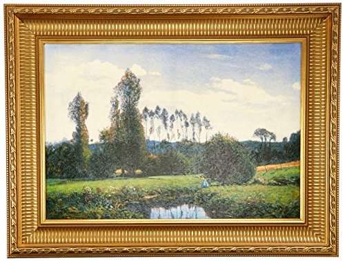 Design Toscano View at Rouelles Le Havre, 1858: Canvas Replica Painting: Large by Design Toscano