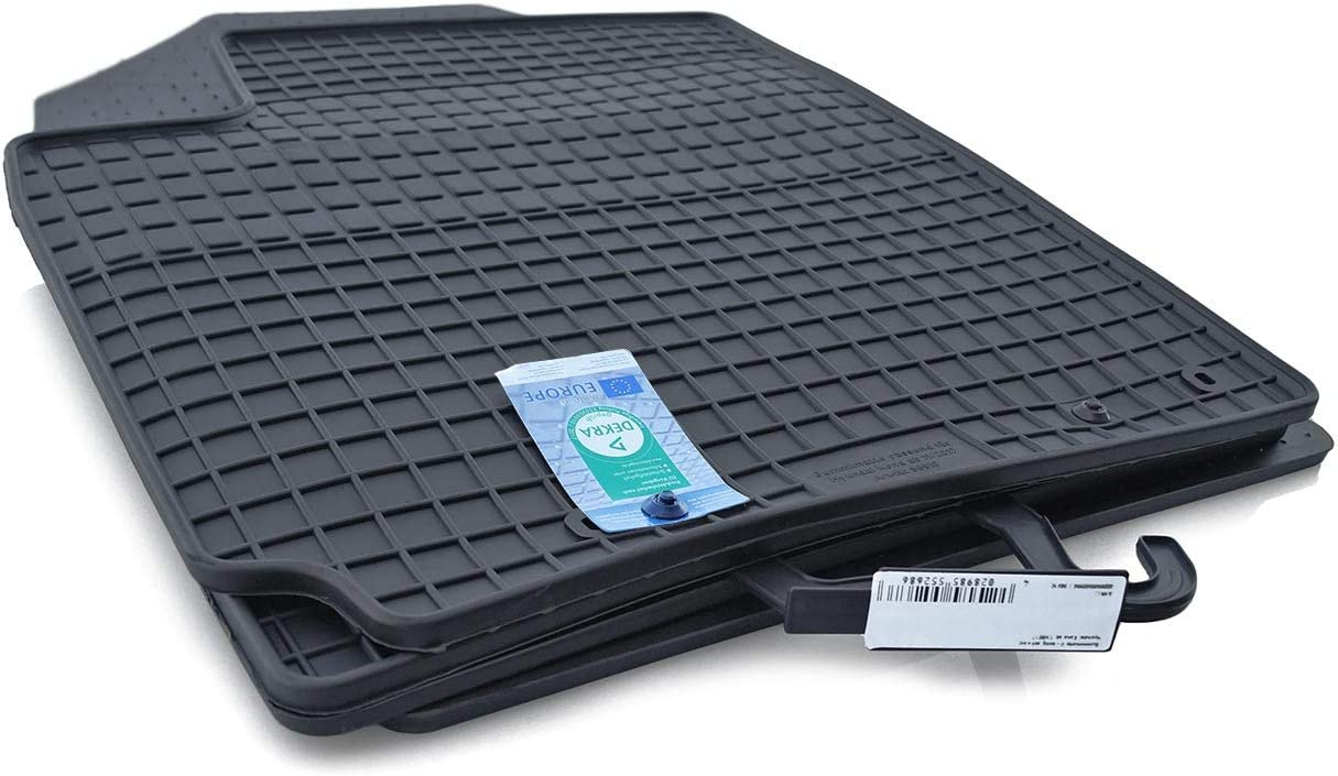Gummimatten /& Kofferraumwanne SET Für Hyundai Kona Allwetter Antirutsch