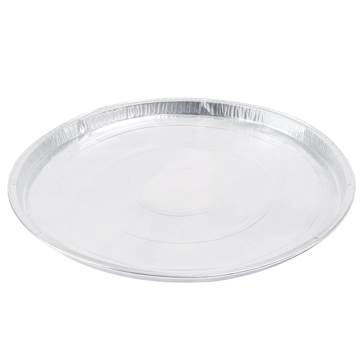 25-Pack, 11-Inch Round Flat Aluminum Foil Pan for Pizza, Large Cookie, or Pancakes 11