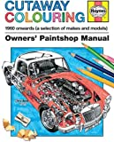 zen drawing book - Cutaway Colouring 1960 onwards (all makes and models)