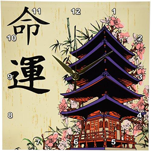 3dRose dpp 116193 1 Beautiful Japanese Design Wall