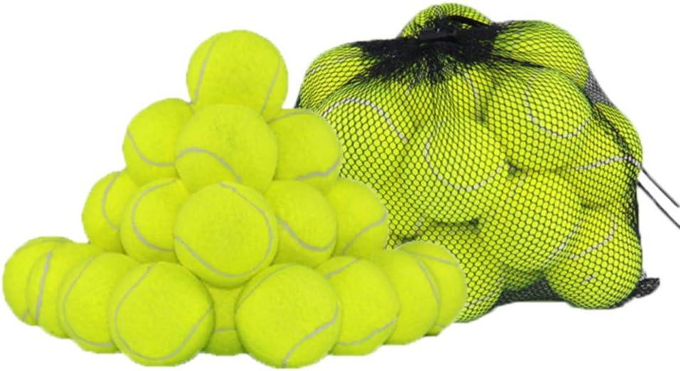 Pack, 24 Pelotas de Tenis Flexible con Bolsa de Mall de Transporte ...
