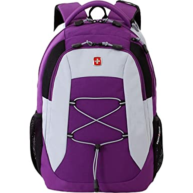 Amazon.com: SwissGear Travel Gear SA5933 Laptop Backpack (Purple ...