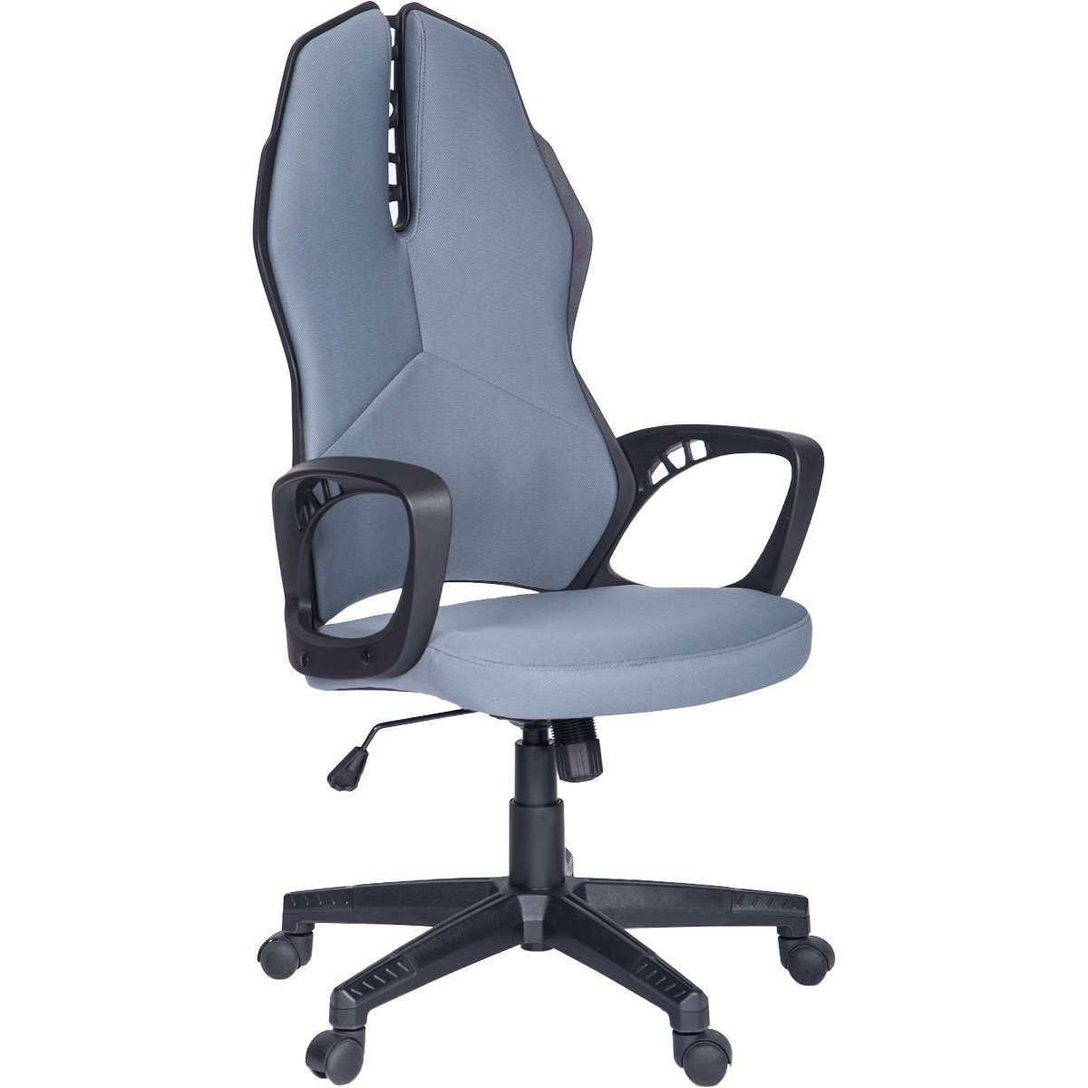 ModernLuxe Terra Series Racing Style Gaming Chair Soft Mesh Fabric Task Chair (Black)